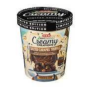 H-E-B Select Ingredients Creamy Creations Salted Caramel Truffle