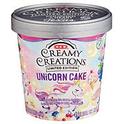 H-E-B Select Ingredients Creamy Creations Unicorn Cake Ice Cream