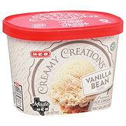 H-E-B Select Ingredients Creamy Creations Vanilla Bean Ice Cream