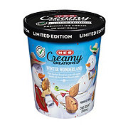 H-E-B Select Ingredients Creamy Creations Winter Wonderland Ice Cream
