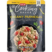H-E-B Select Ingredients Creamy Parmesan Italian Cooking Sauce