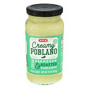 H-E-B Select Ingredients Creamy Poblano Pasta Sauce