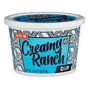 H-E-B Select Ingredients Creamy Ranch Dip