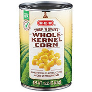 H-E-B Select Ingredients Crisp N' Sweet Whole Kernel Corn