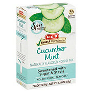 H-E-B Select Ingredients Cucumber Mint Water Enhancer