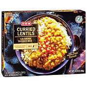 H-E-B Select Ingredients Curried Lentils with Brown Basmati Rice
