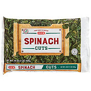 H-E-B Select Ingredients Cut Spinach