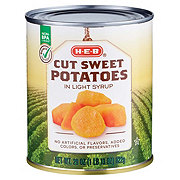 H-E-B Select Ingredients Cut Sweet Potatoes