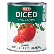 H-E-B Select Ingredients Diced Tomatoes