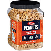 H-E-B Select Ingredients Dry Roasted & Seasoned Peanuts