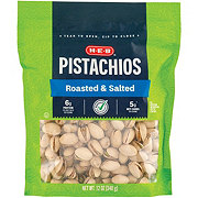 H-E-B Select Ingredients Dry Roasted & Salted Pistachios