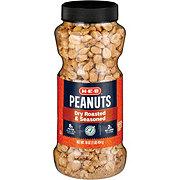 H-E-B Select Ingredients Dry Roasted & Seasoned Peanuts