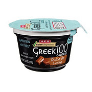 H-E-B Select Ingredients Dulce De Leche Greek Yogurt 100 Calories