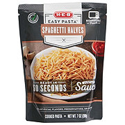 H-E-B Select Ingredients Easy Pasta Spaghetti Halves