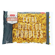 H-E-B Select Ingredients Extra Wide Egg Noodles