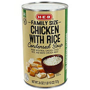 H-E-B Select Ingredients Family Size Chicken & Rice Condensed Soup