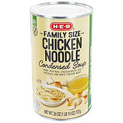 H-E-B Select Ingredients Family Size Chicken Noodle Condensed Soup