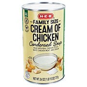 H-E-B Select Ingredients Family Size Cream Of Chicken Condensed Soup