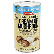 H-E-B Select Ingredients Family Size Healthy Cream Of Mushroom Condensed Soup