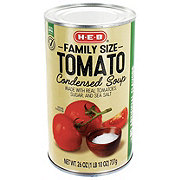 H-E-B Select Ingredients Family Size Tomato Condensed Soup