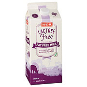 H-E-B Select Ingredients Fat Free Lactose Free Milk
