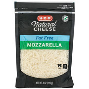 H-E-B Select Ingredients Fat Free Mozzarella Cheese, Shredded