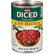 H-E-B Select Ingredients Fire Roasted Diced Tomatoes