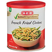 H-E-B Select Ingredients French Fried Onions