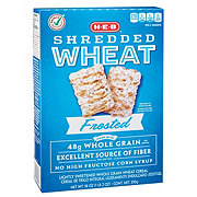H-E-B Select Ingredients Frosted Shredded Wheat Cereal