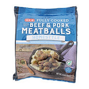 H-E-B Select Ingredients Fully Cooked Homestyle Meatballs