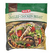 H-E-B Select Ingredients Fully Cooked Sliced Grilled Chicken Breasts