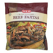 H-E-B Select Ingredients Fully Cooked Sliced Seasoned Beef Fajitas
