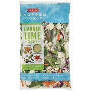 H-E-B Select Ingredients Garden Lime Crunch Chopped Salad Kit