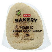 H-E-B Select Ingredients Garlic Vegan Naan Bread