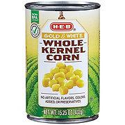 H-E-B Select Ingredients Gold & White Whole Kernel Corn