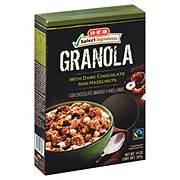 H-E-B Select Ingredients Granola with Dark Chocolate and Hazelnuts