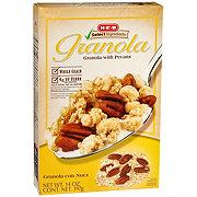H-E-B Select Ingredients Granola with Pecans