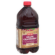 H-E-B Select Ingredients Grape CranberryCocktail Juice