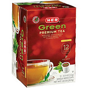 H-E-B Select Ingredients Green Premium Tea Single Cup
