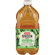 H-E-B Select Ingredients Green Tea with Ginseng and Honey