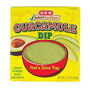 H-E-B Select Ingredients Guacamole Dip