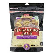 H-E-B Select Ingredients Habanero Jack Shredded Cheese