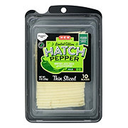 H-E-B Select Ingredients Hatch Pepper Jack Cheese Slices