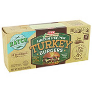 H-E-B Select Ingredients Hatch Turkey Burger 90/10