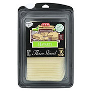 H-E-B Select Ingredients Havarti Thin Sliced Cheese
