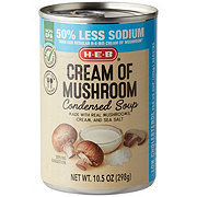 H-E-B Select Ingredients Healthy Action Cream of Mushroom Family Size Condensed Soup