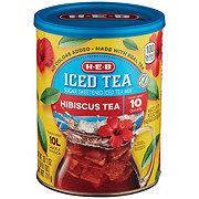 H-E-B Select Ingredients Hibiscus Tea Sugar Sweetened Iced Tea Mix