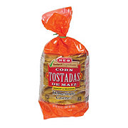 H-E-B Select Ingredients Homestyle Corn Tostadas Caseras
