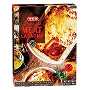 H-E-B Select Ingredients Homestyle Meat Lasagna