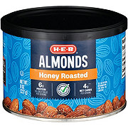 H-E-B Select Ingredients Honey Roasted Almonds